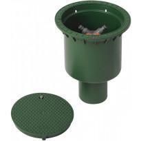 Haaroituskaivo 200mm, vihreä