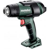 Akkukuumailmapuhallin Metabo HG 18 LTX 500, 18V, ilman akkua