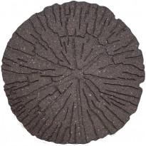 Askelkivi Multy Home Cracked Log, Ø45cm, kierrätyskumia, ruskea