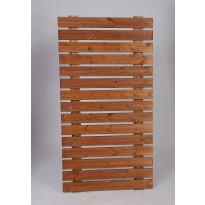 Näkösuoja-aita Miljöökoriste, 183x90cm, ruskea