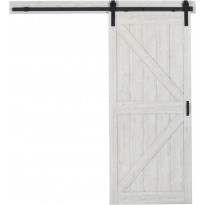Liukuovi Mirror Line Ladon Ovi -valmispaketti, 914 mm, hiekkakivi