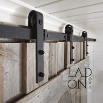 Kiskomekanismi ja pyörästö Mirror Line Ladon Ovi, 2438 mm
