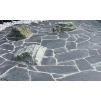 Liuskekivisetti Välimeren Tumma 2-4cm, Majakivi, 10m², sis. pihasetti