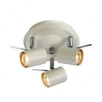 LED-kattovalaisin Markslöjd Hyssna, 3-osainen, valkoinen