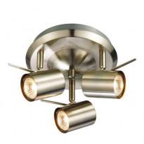 LED-kattovalaisin Markslöjd Hyssna, 3-osainen, teräs