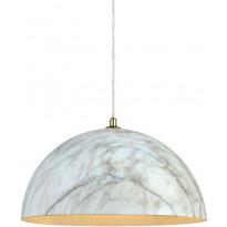 Riippuvalaisin Markslöjd Rock Ø 400x200 mm marmorikuvioitu