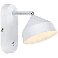 LED-seinävalaisin Markslöjd Tratt 175x115x185 mm valkoinen