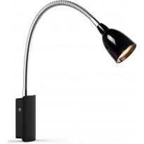 LED-seinävalaisin Markslöjd Tulip 50x300x320 mm musta