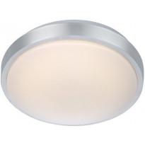 LED-plafondi Markslöjd Moon 28 Ø 280x90 mm alumiini/valkoinen IP44