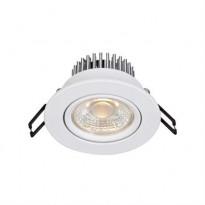 LED-alasvalo Markslöjd Hera, IP44, valkoinen