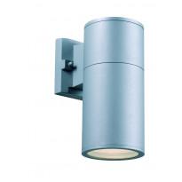 Seinävalaisin Markslöjd Arvid, 102x230x170 mm, hopea/harmaa