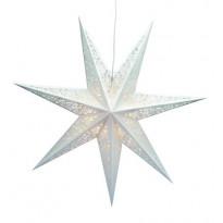 Joulutähti Markslöjd, Vallby, 75 cm, paperi, valkoinen