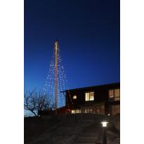 Lipputangon valosarja Ecolight Flagpole 7 m 360 valoa IP44