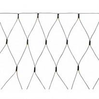 LED-valoverkko Markslöjd, Albus, 185 cm, IP44, musta