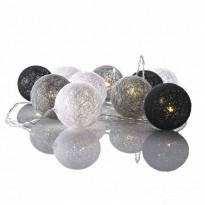 Valopallot Markslöjd, Twix, 10 valoa, harmaa/valkoinen/musta