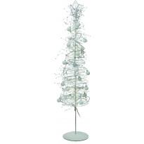 Valopuu Isaberg LED 100 cm 50 valoa metalli valkoinen