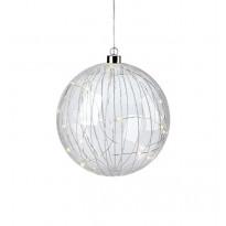 LED-valokoriste Markslöjd Attarp, Ø 18cm, kirkas