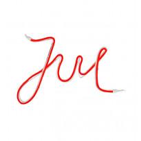 LED-valonauha Markslöjd New York, Jul, punainen