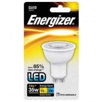 LED-kohdelamppu Energizer, GU10, 3,6W, kirkas