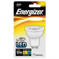 LED-kohdelamppu Energizer, GU10, 5,5W, kirkas, himmennettävä