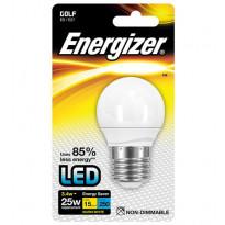 LED-lamppu Energizer Golf, E27, 3,4W, valkoinen