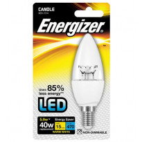 LED-lamppu Energizer Candle, E14, 5,9W, kirkas