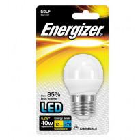 LED-lamppu Energizer Golf, E27, 6,5W, valkoinen, himmennettävä
