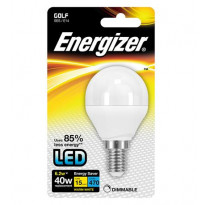 LED-lamppu Energizer Golf, E14, 6,2W, valkoinen, himmennettävä