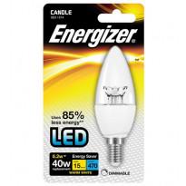 LED-lamppu Energizer Candle, E14, 6,2W, kirkas, himmennettävä