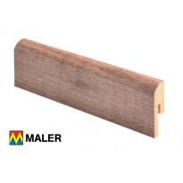 Jalkalista Maler 12x42x2750 mm MDF R10 harmaa mänty