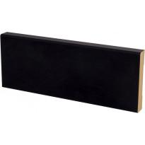 Peitelista Maler Aava, 12x58x3300mm, MDF, musta