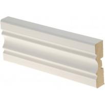 Peitelista Maler Aura 16x60x2200 mm MDF mel valkoinen
