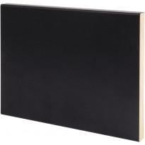 Peitelista Maler Aava, 12x120x3300mm, MDF, musta