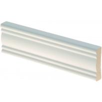 Peitelista Maler Aura, 12x42x2200mm, mänty, valkoinen