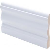 Peitelista Maler Laine, 15x90x2200mm, mänty, valkoinen