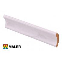 Kattolista Maler 12x40x2750 mm MDF hopeajalava