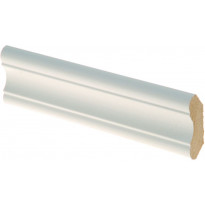 Monitoimilista Maler 12x40x2750 mm MDF valkoinen