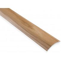 Eritasolista Maler sileä, 0-10mm, 6.2x41x2000mm, alumiini, tarra, tammi