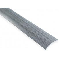 Eritasolista Maler sileä, 0-10mm, 6.2x41x1000mm, alumiini, tarra, harmaa tammi
