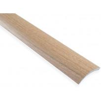 Eritasolista Maler sileä, 0-10mm, 6.2x41x1000mm, alumiini, tarra, natur tammi