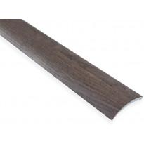 Eritasolista Maler sileä, 0-10mm, 6.2x41x1000mm, alumiini, tarra, savutammi