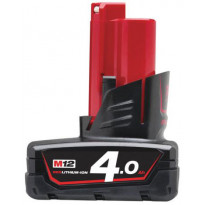 Akku Milwaukee Red Lithium Ion 12 V - 4.0 AH