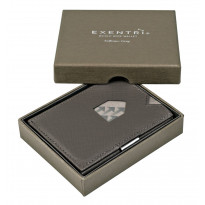 Exentri lompakko, 043 saffiano grey
