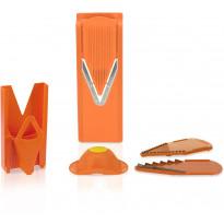 Mandoliini-leikkuri Börner V3 Trendline, multibox, oranssi