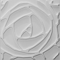 Sisustuslevy Mannerlaatta 3D Peony 500x500 mm