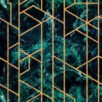 Tapetti Mindthegap Gramercy, 0.52x10m, vihreä