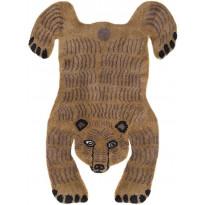 Villamatto Mum's Bear, luksus, 170x240cm, brown mix