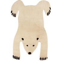 Villamatto Mum's Baby Polar Bear, 90x120cm, natural/musta