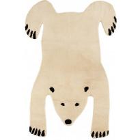 Villamatto Mum's Polar Bear, 140x200cm, natural/musta