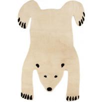 Villamatto Mum's Polar Bear, 170x240cm, natural/musta